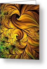 Autumn Returns Abstract Greeting Card