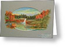 Autumn Reverence Greeting Card