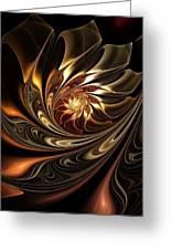 Autumn Reverie Abstract Greeting Card