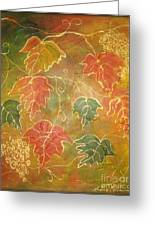 Autumn Rhapsody Greeting Card