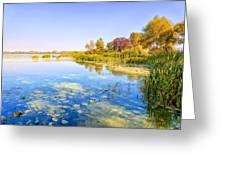 Autumn River Greeting Card