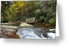 Autumn River Fall Greeting Card