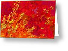Autumn Romance I Greeting Card