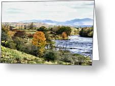 Autumn Rural Scene Greeting Card