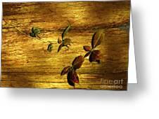 Autumn Rust Greeting Card