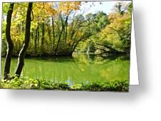 Autumn Sea Greeting Card