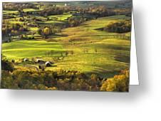Autumn - Shenandoah Valley Greeting Card