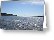Autumn Shore Greeting Card