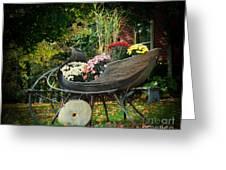Autumn Sleigh Greeting Card