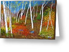 Autumn Splendour Greeting Card
