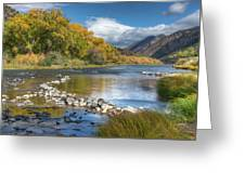 Autumn Stance Greeting Card