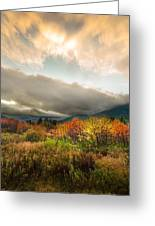 Autumn Storm Clearing Greeting Card