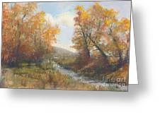 Autumn Study 3 Greeting Card