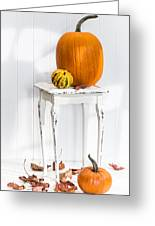 Autumn Table Greeting Card