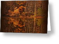 Autumn Tapestry Square Greeting Card