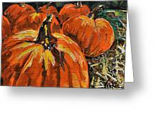 Autumn Greeting Card by Vickie Warner