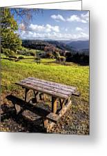 Autumn View Greeting Card