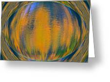 Autumn Vision Reflections Greeting Card