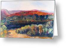 Autumn Vista Greeting Card