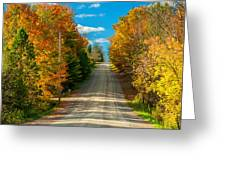 Autumn Wandering Greeting Card