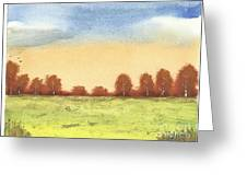 Autumn Woodlands 2 Greeting Card