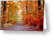 Autumn Xxi Greeting Card