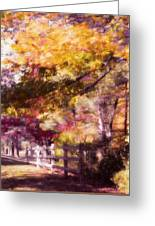 Autumn Xxxxii Greeting Card