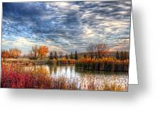 Autumnal Morn Greeting Card