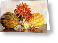 Autumn's Charm Greeting Card