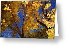 Autumns Reflections Greeting Card