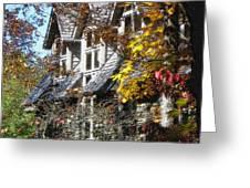 Autumn's Windows Greeting Card