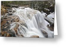 Avalanche Falls - White Mountains New Hampshire Usa Greeting Card