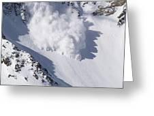 Avalanche IIi Greeting Card