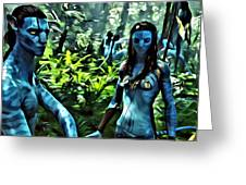 Avatar Greeting Card