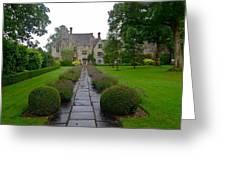 Avebury Manor House Greeting Card