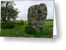 Avebury Megalith Greeting Card