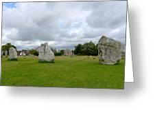 Avebury Stones Greeting Card