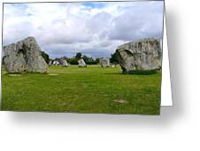 Avebury's Southern Entrance Stones Greeting Card