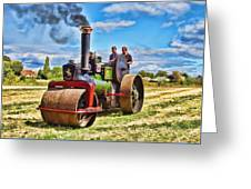 Aveling Roller Greeting Card