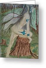 Avenger Of Trees Greeting Card