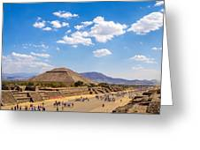 Avenue Of The Dead Greeting Card
