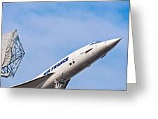 Aviation Icons - Air France Concorde Greeting Card