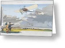 Aviation Meeting At Champagne Greeting Card