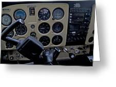 Aviation Near Jekyll Island Greeting Card