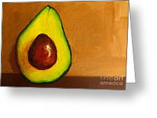 Avocado Palta Vi Greeting Card