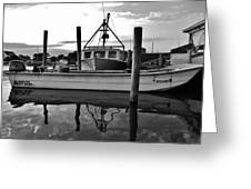 Avon Harbor Bxw 7/26 Greeting Card