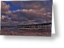 Avon Pier 3 3/04 Greeting Card