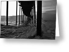 Avon Pier Bxw 7/29 Greeting Card