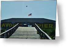 Avon Pier Front Ramp 7/03 Greeting Card