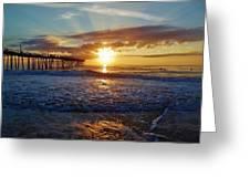Avon Pier Surfers Paradise 9/08 Greeting Card